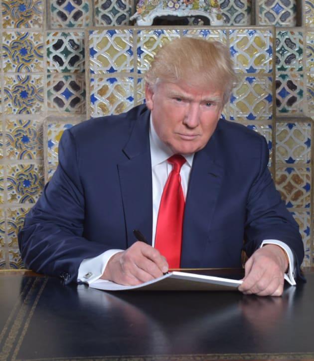 Donald Trump Writes a Speech