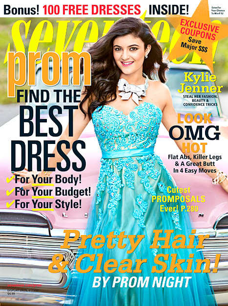 Kylie Jenner Seventeen Cover