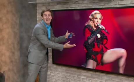 Cherish How This Weatherman Pays Homage to Madonna