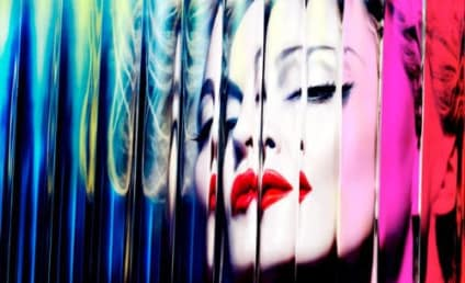 Madonna Releases MDNA Album Cover