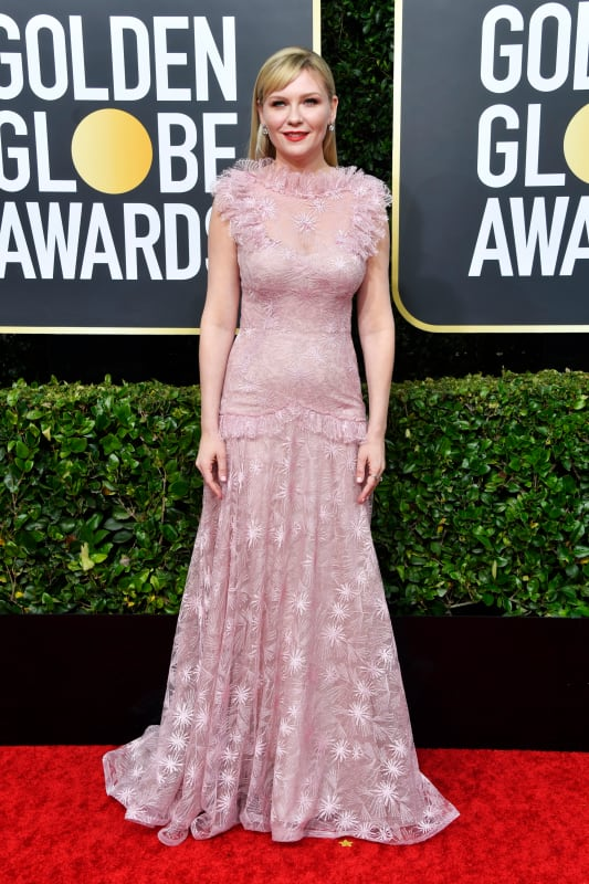 Kirsten dunst at the globes