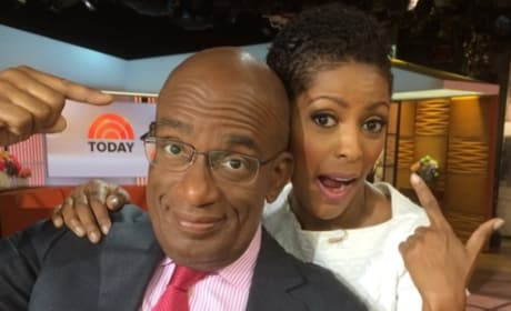 Al Roker and Tamron Hall Get Goofy