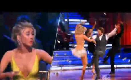 Robert Herjavec & Kym Johnson - Dancing With the Stars Season 20 Week 1