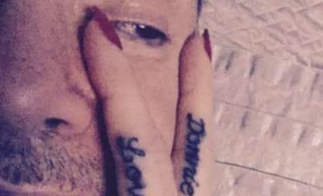 Donnie Wahlberg Tattoo