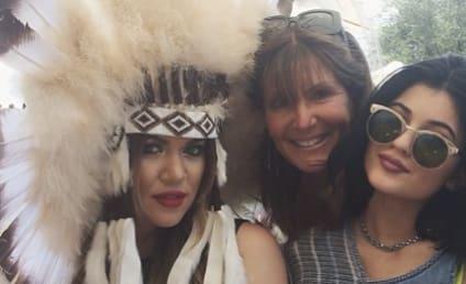 Khloe Kardashian Dons Native American Headdress, Sparks Outrage Online