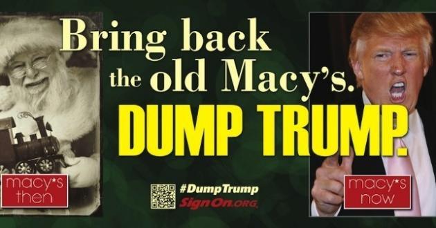 Dump Trump Billboard