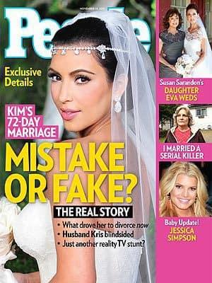 Kim Kardashian People Cover