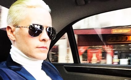 Jared Leto Makes Like Kim Kardashian, Debuts Blonde Locks to Mixed Reviews