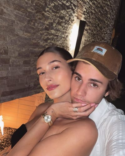 Justin and Hailey In Vegas