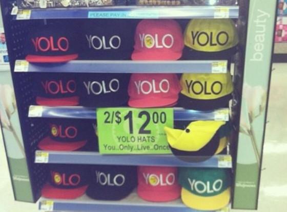 YOLO Hats