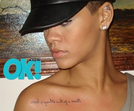 Rihanna Tattoo