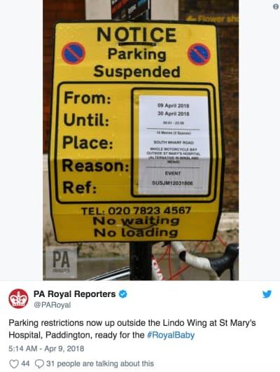 parking restirct