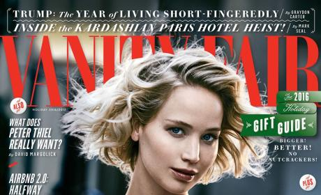 Jennifer Lawrence Vanity Fair holiday cover