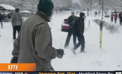 Oregon Students Under Investigation for Snowball Attack