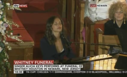 Alicia Keys Performs at Whitney Houston Funeral [Video]