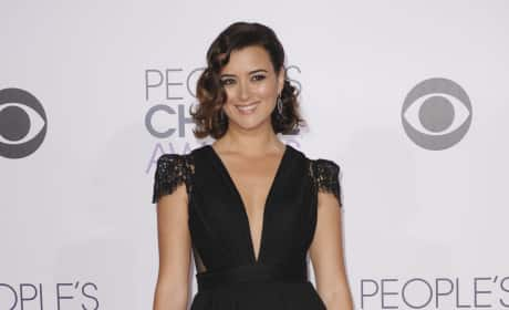 Cote De Pablo at the People's Choice Awards