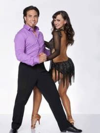Apolo Anton Ohno and Karina Smirnoff