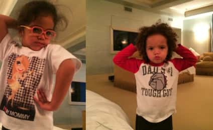 Monroe and Moroccan Strike A Pose, Make Like Mother Mariah