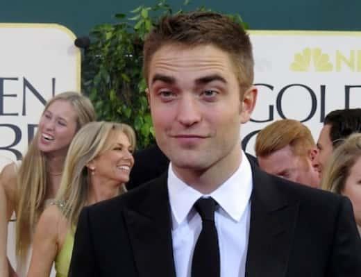 Relaxed Robert Pattinson