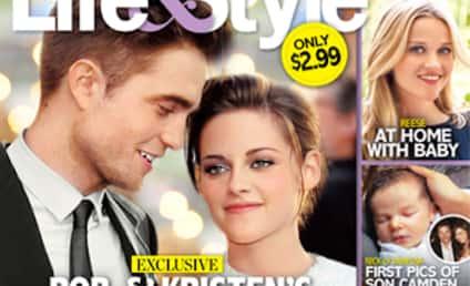 "Robert Pattinson and Kristen Stewart Planning a ""Secret Wedding?"""