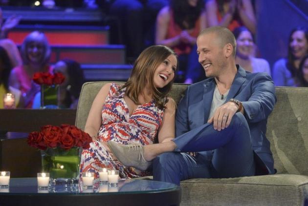 Ashley and J.P. on The Bachelorette