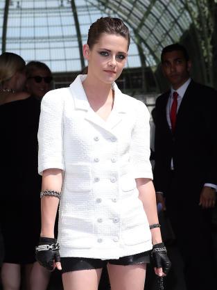 Kristen Stewart at Fashion Week