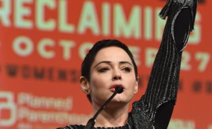 "Rose McGowan RIPS Golden Globes, ""Fake"" Hollywood Activism"