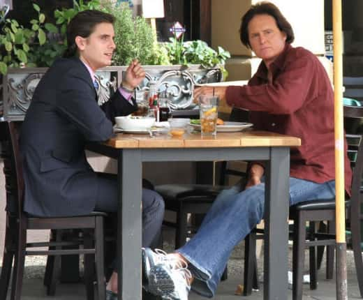 Scott Disick and Bruce Jenner