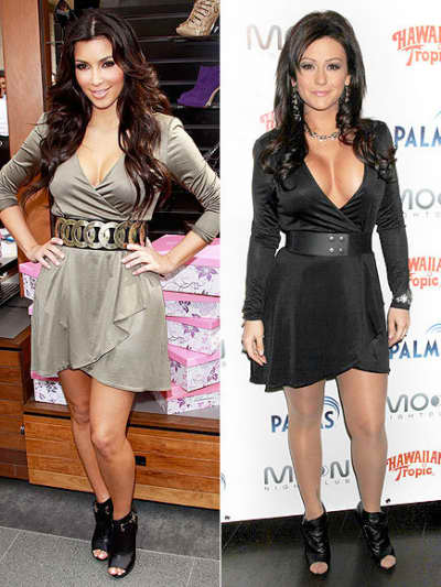 Kim and J Woww
