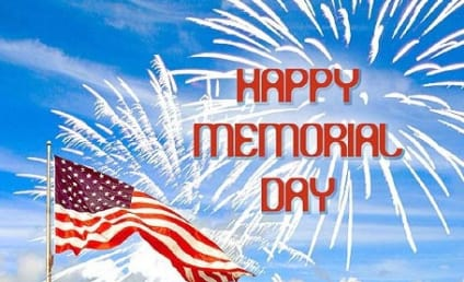 Happy Memorial Day from The Hollywood Gossip!