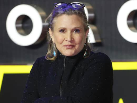 Carrie Fisher at UK Premiere