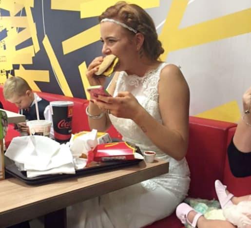 McDonald's Bride