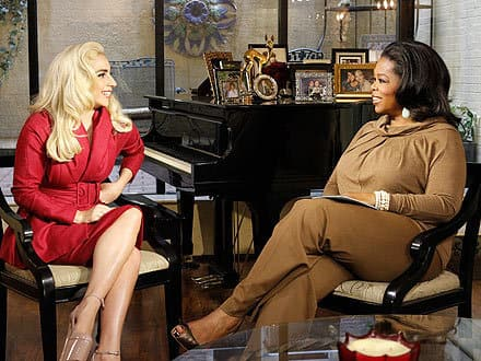 Oprah and Gaga