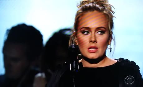 Adele George Michael Tribute: Watch Her Start, Stop, Swear and Slay Grammy Performance!