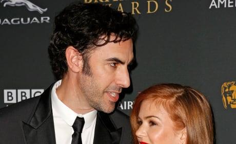 Sacha Baron Cohen and Isla Fisher Photo