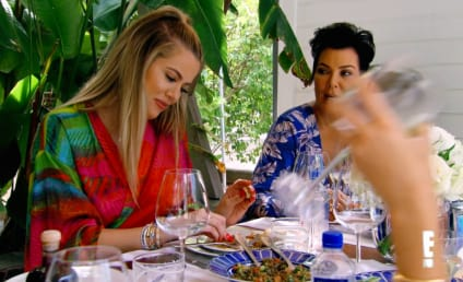 Kendall and Khloe Ignore Their Mother on Family Vacation