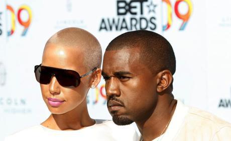 Amber Rose & Kanye West: 2009 BET Awards