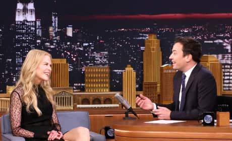 Nicole Kidman on The Tonight Show