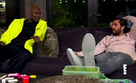 Lamar Odom & Scott Disick Compare Stories of Recovery, Get Emotional