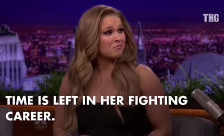 Ronda Rousey Hints at Retirement