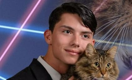High School Senior Pushes for Amazing Cat Photo in Yearbook