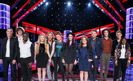 The Voice Season 7 Top 12