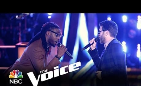 Delvin Choice vs. Josh Kaufman: 'Signed, Sealed, Delivered' (The Voice)