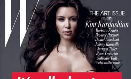W Magazine Responds to Kontrived Krying of Kim Kardashian