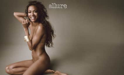 """Zoe Saldana Gets Naked in Allure, Describes Self as """"Androgynous"""""""