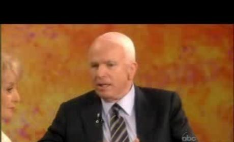 John McCain on The View