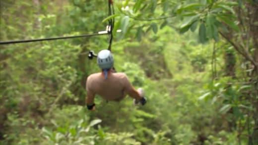 Bachelor in Paradise Season 7 sneak peek - ziplining in paradise