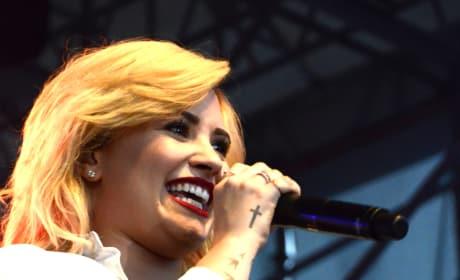 Demi Lovato on Tour