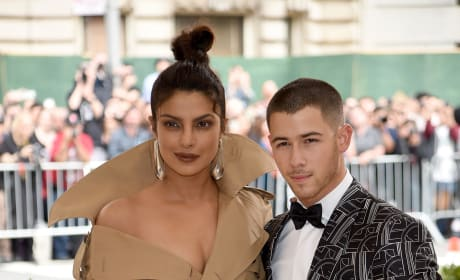 Priyanka Chopra and Nick Jonas at the 2018 MET Gala