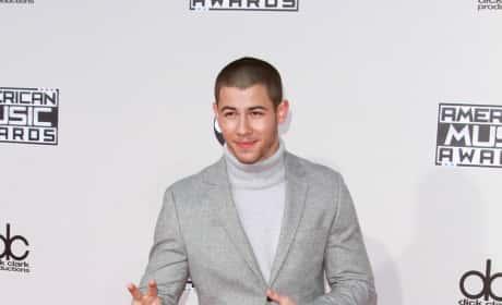 Nick Jonas: 2015 American Music Awards